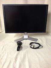 "** LOT of 2 **   Dell 20"" WideScreen LCD Monitor 2007wfpb DVI VGA / Desktop"