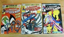 THE AMAZING SPIDER-MAN LOT OF 3 COMICS, 235 236 242 VG