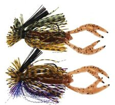 NEW! Stanley 2Pk Finesse Jig1/8 Pmp/Grnch fishing-equipment FSR218-6469