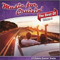 MUSIC FOR CRUIZIN' The Best Of Volume 2 2CD NEW Dr Hook Dragon Toto Simply Red
