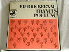 PIERRE BERNAC & FRANCIS POULENC A Recital Odyssey 2 LP box set