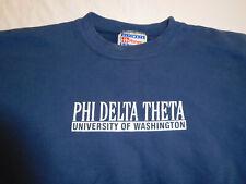 UW Universtiy of Washington Huskies Phi Delta Theta Sweatshirt Shirt Medium VSCO