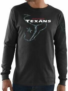 Houston Texans Men's Elite Reflective Long Sleeve Shirt - Black