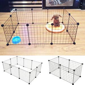 Pet Dog Pen Puppy Rabbit Foldable Playpen Indoor/Outdoor Enclosure Run Cage