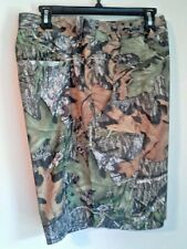 UNDER ARMOUR STORM 1 FISH HUNTER CAMO CARGO SHORTS SZ 40 MOSSY OAK $75 for $30