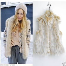 Vest Faux Fur Dry-clean Only Coats & Jackets for Women