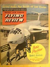 RAF Flying Review Magazine July 1959 Handley Page Victor Spain's Heinkels