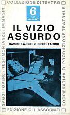 Davide Lajolo Diego Fabbri IL VIZIO ASSURDO
