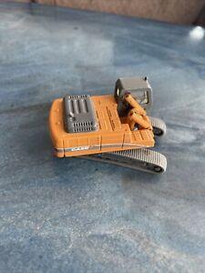 Norscot 21004 HO CX330 Excavator Case Missing Backhoe Metal Die Cast