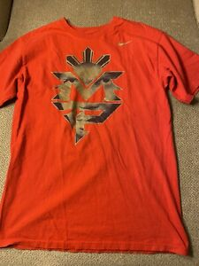Mens Nike Manny Pacquiao Filipino Boxing Shirt Medium M