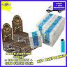 4500 filtri RIZLA SLIM 6mm 3 BOX + 6000 Cartine SMOKING BROWN senza cloro 2 BOX