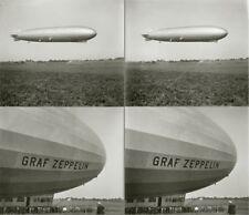 15 Stereofotos Graf Zeppelin LZ127 Start Landung ca.1930 und mehr