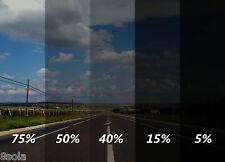 300cm x 50cm Limo Black Car Windows Tinting Film Tint Foil + Fitting Kit - 50%