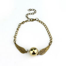 BRACCIALE BOCCINO D'ORO HARRY POTTER - Quidditch Golden Snitch Pocket Bracelet