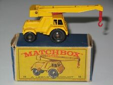 MATCHBOX Regular Wheels 11 Jumbo Crane NM in E2 box
