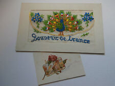 Collectable French Unposted WWI Military Postcards (1914-1918)