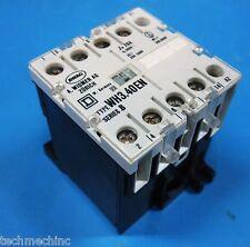 Square D Series B WH3.40EN A.WIDMER AG ZURICH 660V/500V 20A Contactor 230V Coil