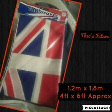 Union Jack Great Britain British Flag Party Plastic Party Table Cover Tablecloth
