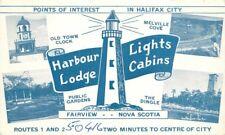 1940s Canada Lighthouse Harbour Lodge roadside Fairview Nova Scotia 7243