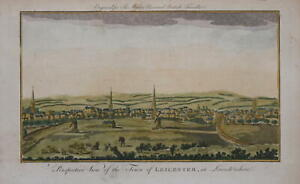 A PERSPECTIVE VIEW OF THE TOWN OF LEICESTER, 1779.