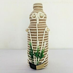 KJ_Mart Home Decorated Glass Bottle Create By Handmade Beautiful Gift