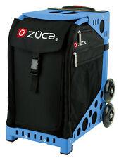 Zuca Bag Obsidian Insert & Blue Frame w/Flashing Wheels - Free Seat Cushion