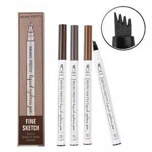 Waterproof Drawing Eye Brow Eyeliner Eyebrow Pen Pencil Brush Makeup Cosmetic