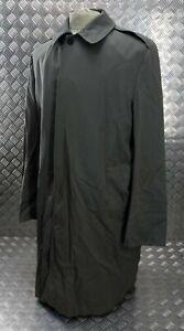 Genuine Vintage British Royal Marines Issue Single Breasted Long Rain Coat 100cm