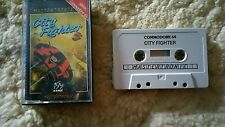 City Fighter Video Game Cassette Commodore 64 C64/C128 💜💜💜 FREE POST