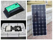 100w Solar Panel Kit for Boat Caravan Motorhome Corner Brackets 12v Sundely