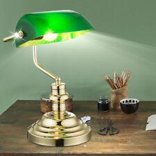 Lampe de Banquier Table Bureau Pour Bibliothèque Lecture Lumière