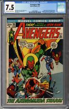 Avengers #96  CGC 7.5