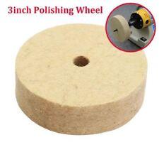 3 Inch Round Shank Wool Polishing Wheel Felt Wool Buffing Polishers