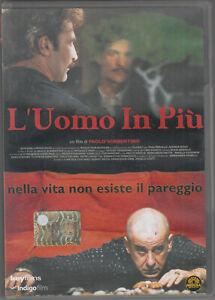 L'Uomo In Piu  Nella vita non esiste il pareggio Andrea Renzi DVD in Italiano