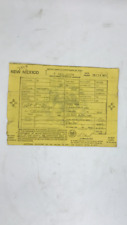 Historical Document New Mexico Title 1971 Pontiac Firebird