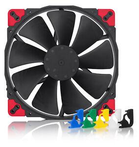 Noctua NF-A20 PWM chromax.black.swap Case Fan 200mm anti-vibration pad 4-pin PWM