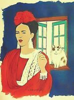 Frida Kahlo Fine Art Print by Marianne L'Heureux fits into 16X20 frame
