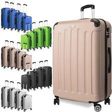 KESSER® 4er Reisekoffer Set Trolley Hartschale Hartschalenkoffer Koffer S-M-L-XL