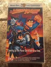 The Batman Superman Movie - VHS Movie