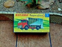 MATCHBOX SUPERFAST NO.7A FORD REFUSE TRUCK  CUSTOMISED DISPLAY/STORAGE BOX ONLY
