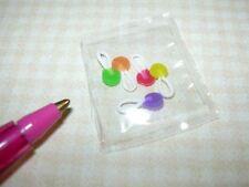 "Miniature Lola ""Safe-T Pops"" Suckers Lollipops (5): DOLLHOUSE Candy 1/12"
