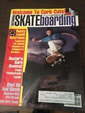 Transworld Skateboarding Magazine April 1992 Bucky Lasek 4/92 Apr