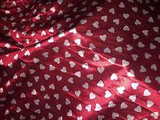 Hearts Swimwear Print Lycra 1 M X 150 Cm Wide