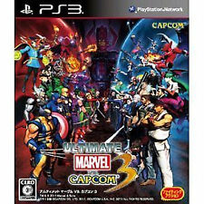 ULTIMATE MARVEL VS. CAPCOM STREET FIGHTER Playstation3 PS3 Import Japan