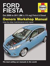 Haynes Ford Fiesta 2008 - 2011 Petrol & Diesel Manual 4907 NEW