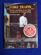 I LIKE TRAINS BOOK GREAT READING FROM THE MAGAZINE OF RAILROADING VINTAGE 1980