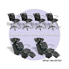 New Salon Spa Package Beauty Shampoo Styling Chairs