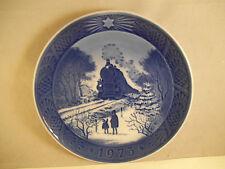 Vintage Royal Copenhagen 1973 Plate Going Home for Christmas