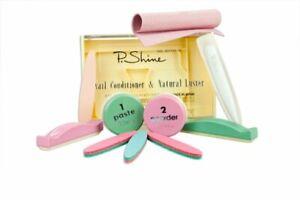 P Shine Kit  – full nail care kit. Japanese Manicure. UK STOCK.