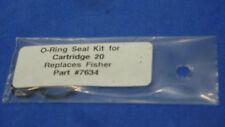 Fisher 7634,Fisher Snow  Plow,20 Cartridge Valve Seal Kit,NEW